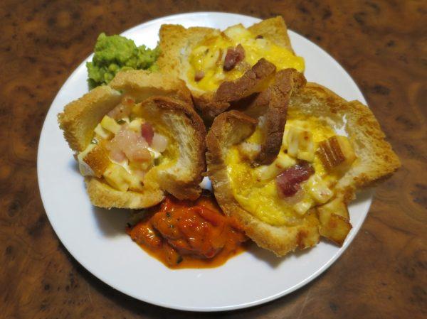 eggmuffin-tanjurdvalijepa&guuacamole&ajvarBB